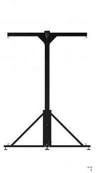 burnout 4 stationen boxsack aufsteller st nder f r boxsack. Black Bedroom Furniture Sets. Home Design Ideas